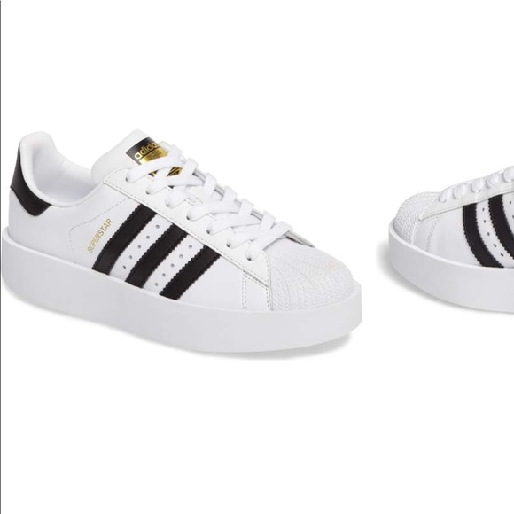 Adidas Superstar Bold platform sneaker